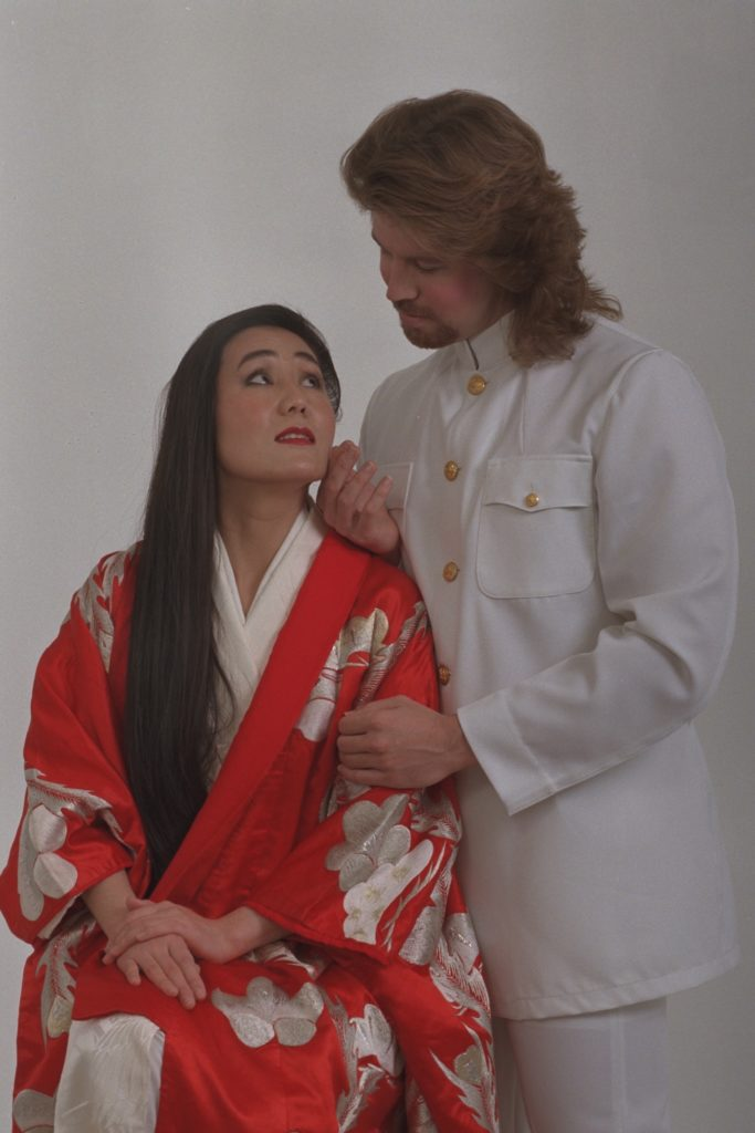 Photo of Madama Butterfly with Pinkerton